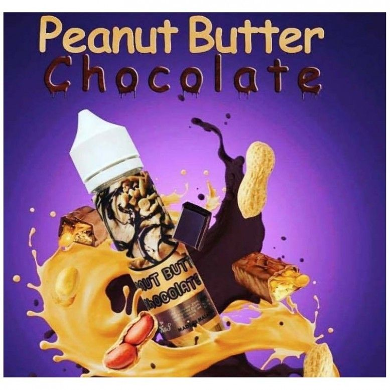 Peanut Butter Chocolate - 60ml - Kxs Liquid