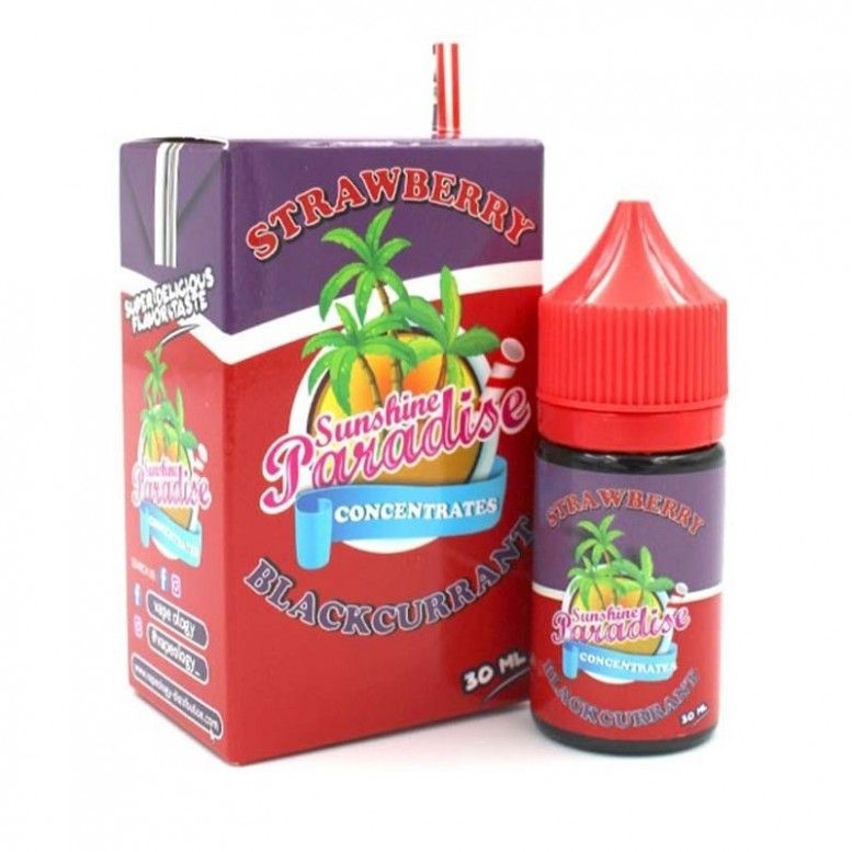 Strawberry Blackcurrant - 30ml - CONCENTRE Sunshine 84 Paradise