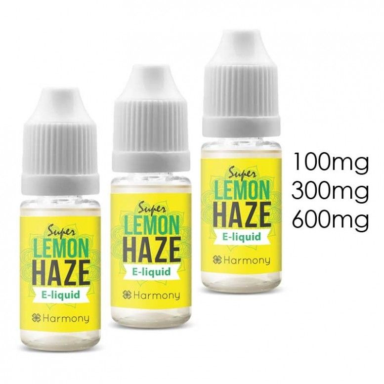 Lemon Haze - 10ml - 100mg/cbd - Harmony