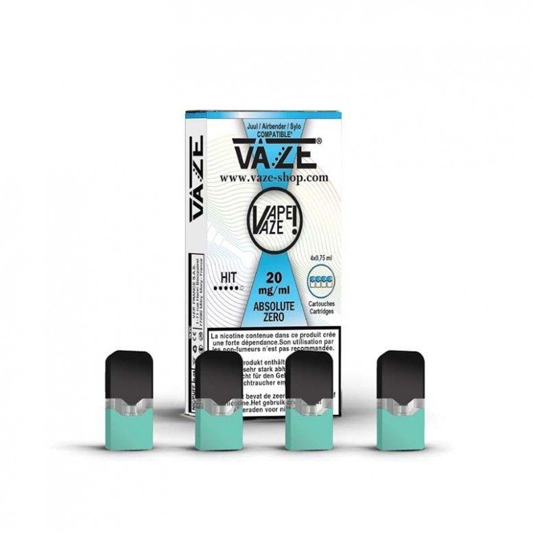 Absolute Zero - Cartouches x4 - Vaze